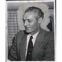 1952 Press Photo Joseph N. Pease Pan American Wolrd Airways - ora72603