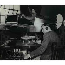 1935 Press Photo Paul Mautz Portland Avaitor The Hollywood Triio - ora73765