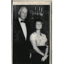 1968 Press Photo Mr. and Mrs. Charles A. Lindbergh - oro02257