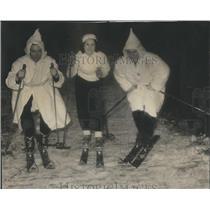 1940 Press Photo Norge Ski Club Skiing - RRR34771