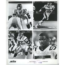 1996 Press Photo Jets Alex Gordon Linebacker Action - RRR65257