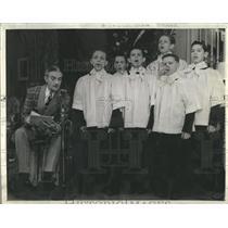 "1940 Press Photo Clifton Webb-The Man Who Came Dinner"" - RRR25193"