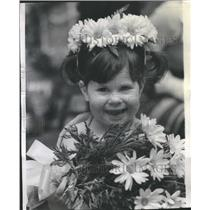 1972 Press Photo Audrey Gilfand Miss Minimad - RRR53677