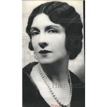1928 Press Photo Mary Nash American Actress Dramatic - RRR62459