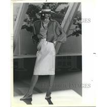 1984 Press Photo Fashion - RRR64809