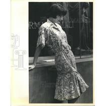 1984 Press Photo Fashion - RRR64813