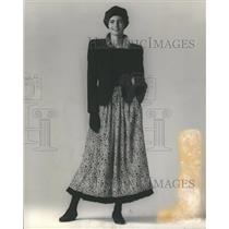 1988 Press Photo Fashion - RRR64843