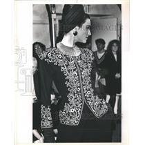 1988 Press Photo Fashion - RRR64919
