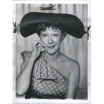 1960 Press Photo Actress Dody Goodman Funny Face - RRR65197