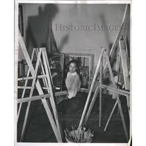 1949 Press Photo Model and Actress Eileen Wilson - RRR72947