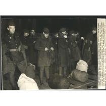 1937 Press Photo National Guard Call Shoe Factory Riot - RRR82037