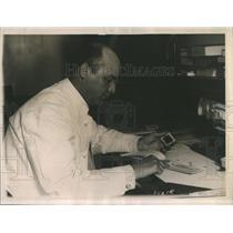1922 Press Photo Ridge Impression Part Human Hand - RRR86185