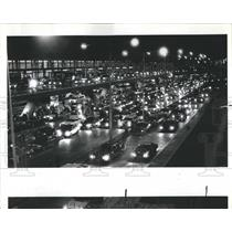 1983 Press Photo OHare Airport Holiday Traffic - RRR21433