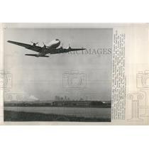 "1947 Press Photo Truman's ""Sacred Cow"" Airplane - RRR21831"