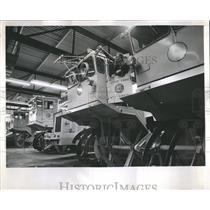 1968 Press Photo Snow Removal Equipment O'Hare - RRR22829