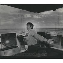 1987 Press Photo OHare Airport Traffic Controller Tower - RRR23107