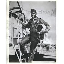 1982 Press Photo William Dixon Air National Guard - RRR60521