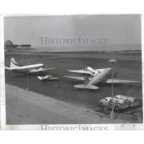 1960 Pree Photo One More March Single Strip Airport - RRR90257