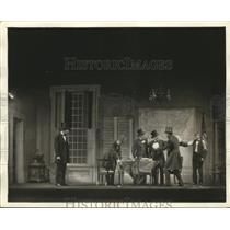 "Press Photo Raymond Massey in Robert Sherwood's ""Abe Lincoln In Illinois"""