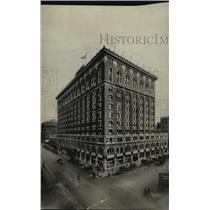 1928 Press Photo Davenport Hotel - spx10084