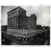 1922 Press Photo Davenport Hotel Lincoln & Sprague - spx10266