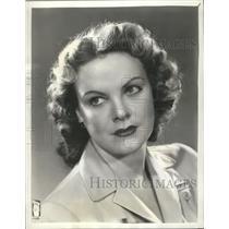 "1943 Press Photo Claudia Morgan in ""Adventures of the Thin Man"". - mjx21107"