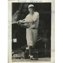 1931 Press Photo Roger Cramer of the Philadelphia Athletics - nes53058