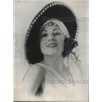 1935 Press Photo Portia Porter, first U.S. woman to conduct regulation bullfight