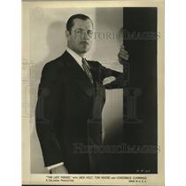 "1931 Press Photo Jack Holt in ""The Last Parade"" - ney22794"