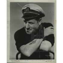 """1931 Press Photo Actor Jack Holt in """"Fifty Fathoms Deep"""" - ney22868"""