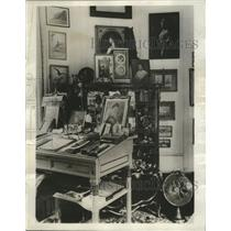 1931 Press Photo Corner study used by ex-Kaiser Wilhelm at his castle in Doorn