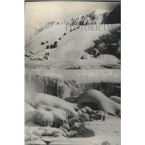1924 Press Photo Views of America's scenic masterpiece in Old King Winter