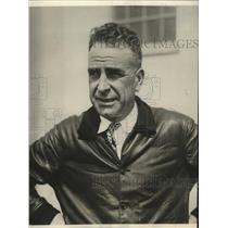 1928 Press Photo Major E.L. Hoffman perfects airline parachute - ney22801