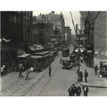 1920 Press Photo St. Charles Avenue, New Orleans - nox00507