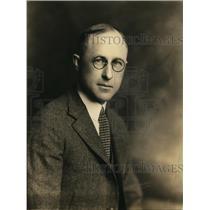 1924 Press Photo HL Davis Golfer Appleton Wisconsin - nex86999