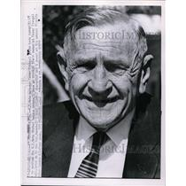 1962 Press Photo NY Mets manager Casey Stengel at St Petersburg, Florida