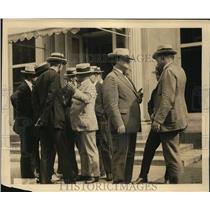 1922 Press Photo John L Lewis United Mine Workers and Secretary of Labor Davis