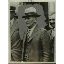 1930 Press Photo Charles Leopold Hartmann in Paris, France After Spy Trial