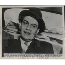 1951 Press Photo Robert Vogeler at Hungary-Austria Border After Prison Release