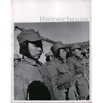 1954 Press Photo Unknown Asian Females - nef47861