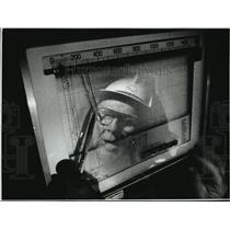 1989 Press Photo Walter Michalica, Plant Supervisor-Wisconsin Electric Power Co