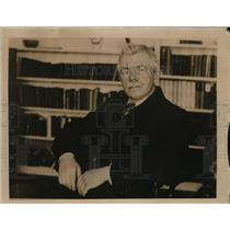 1922 Press Photo J.R Clynes Recognized as Leader of Opposition in Commons House