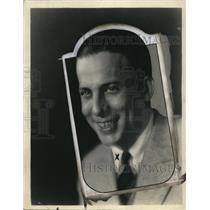1926 Press Photo Charlie Wellman, Radio Announcer - nef44231