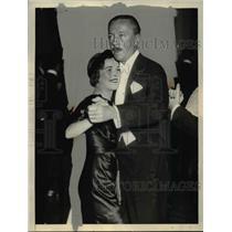 1933 Press Photo Lois Moran, William Rhinelander Stewart at Elsa Maxwell Party
