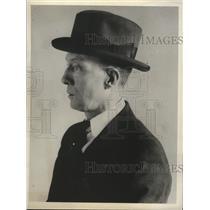 1931 Press Photo CPR Sports director Joe Page - net31839
