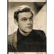 1936 Press Photo Actor Edgar Edwards - nef36609