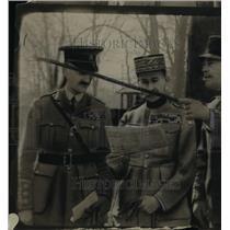 1921 Press Photo Military Scene in Upper Siberia - nef46009