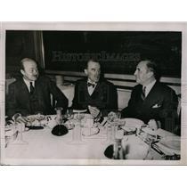 1936 Press Photo Major Ian Hay Bieth Guest of Honor at Recent Luncheon