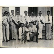 1933 Press Photo Santiago Almrez & Ysmael Seijas & Other Students of University