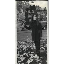 1970 Press Photo Deborah Jackson, Native American Student Union secretary